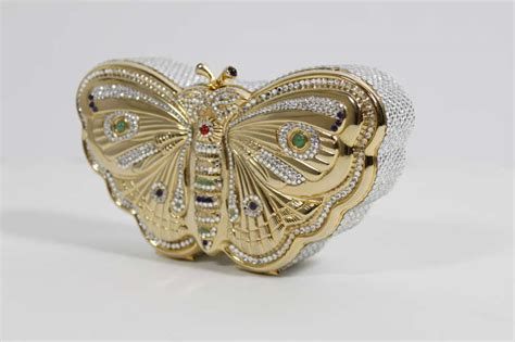 Dazzling Evening Designer Bags From Leiber Dolce Devi Kroell And More by Judith Leiber Dazzling Butterfly Evening Bag At 1stdibs