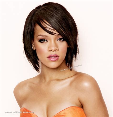 rihanna images of front and back short hair styles rihanna bob hairstyles front and back view 905995475 jpg
