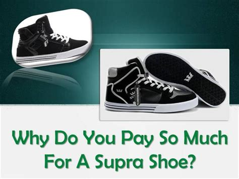 Why Are Mba Paid So Much by Why Do You Pay So Much For A Supra Shoe Authorstream
