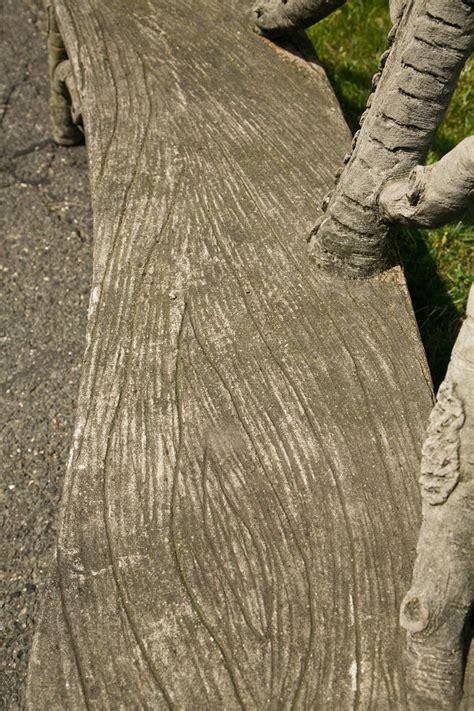 faux bois unique faux bois bench at 1stdibs