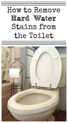 how to remove water stains from bathtub 1000 ideas about toilet bowl stains on pinterest toilet