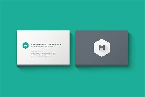 Business Card Mockup Template Psd Free