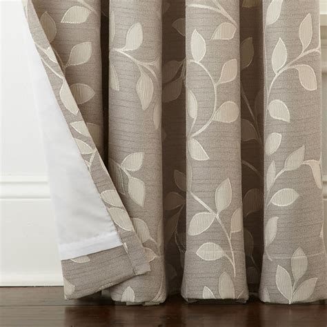 leaf pattern grommet curtains jcpenney home quinn leaf grommet top curtain panel jcpenney