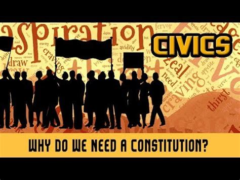 8 Reasons We Need by Why Do We Need A Constitution South