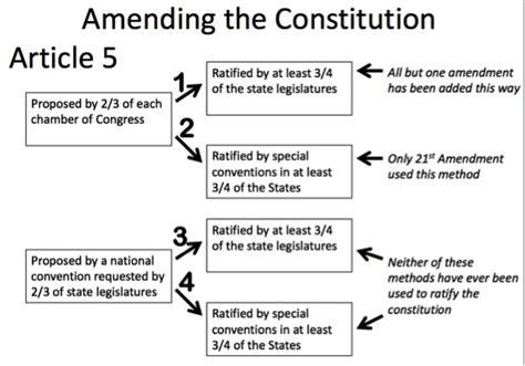 constitutional flowchart amending the u s constitution piktochart visual editor