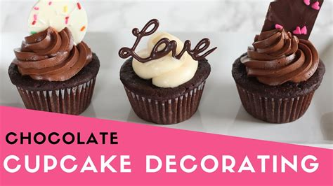 Decor Cupcake by Easy Chocolate Cupcake Decorating S Day