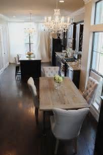 Beautiful Dining Room Beautiful Dining Room In Open Concept Kitchen The Chandeliers And The Wonderful Chairs Add A