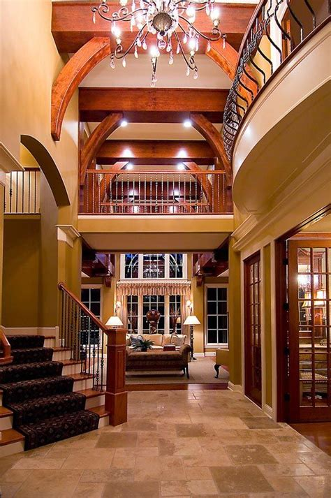 House Plans With Foyer Entrance Cape Cod Craftsman Tuscan House Plan 74827 Beautiful