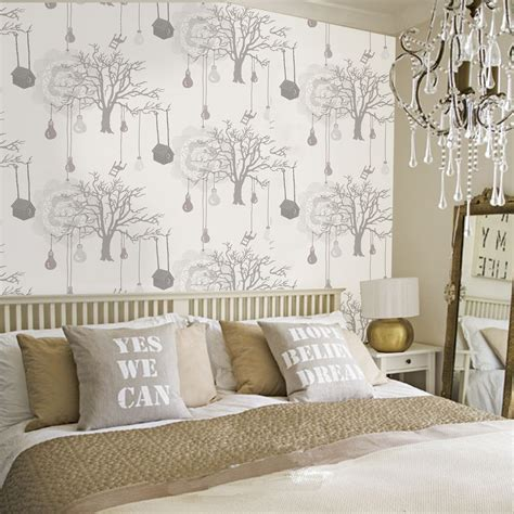 wallpaper in bedroom 30 best diy wallpaper designs for bedrooms uk 2015