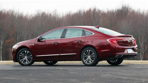 buick reviews 2017 buick lacrosse review big is beautiful