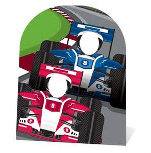 Marilyn Monroe Themed Bedroom racing cars child size cardboard stand in cutout standup