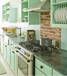 couleur cuisine en total look vert d eau
