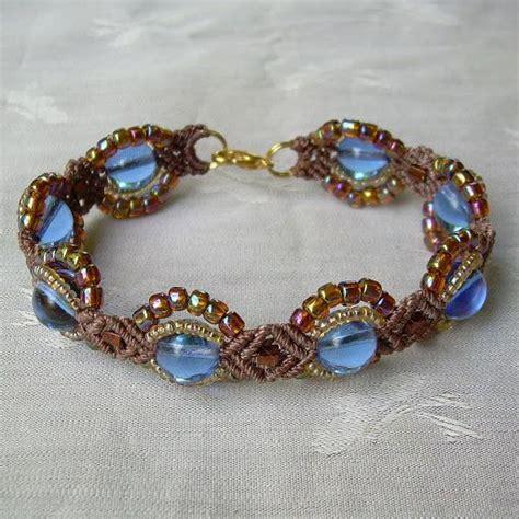 blue gold bracelets and macrame bracelet patterns on