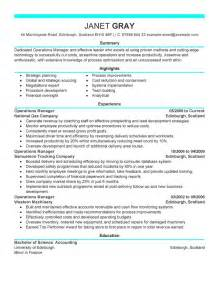 best resume exle best resumes