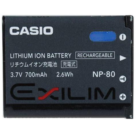 Casio Np 80 Battery Hitam battery casio np 80 invicom
