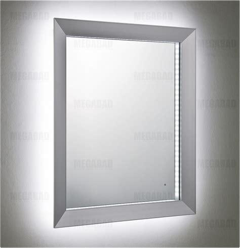 silver badezimmerspiegel led spiegel 40 215 60 glas pendelleuchte modern