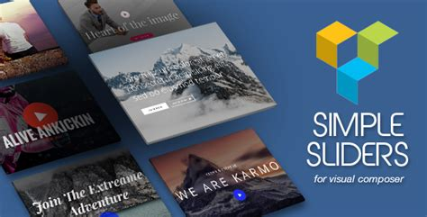 D Ex V1 2 1 Multilayer Parallax Plugin simple sliders addons for visual composer 精博建站