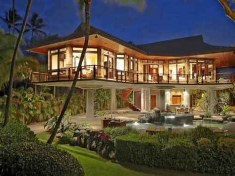 hawaii mansion interior design hawaii beachfront home