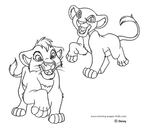 coloring pictures of lion king 2 lion king 2 coloring pages coloring page