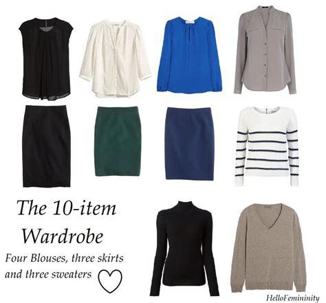 Ten Item Wardrobe - 1000 ideas about 10 wardrobe on capsule