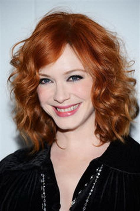 australian actress with red hair locken schulterlange haare