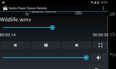 wmp apk media player classic remote 1 2 apk android