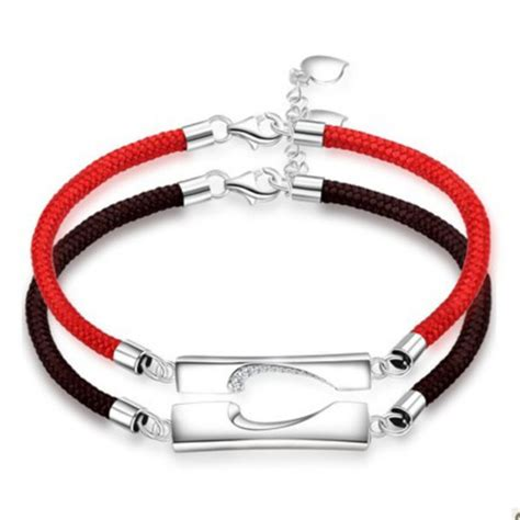 jewels his and hers bracelets couples bracelets
