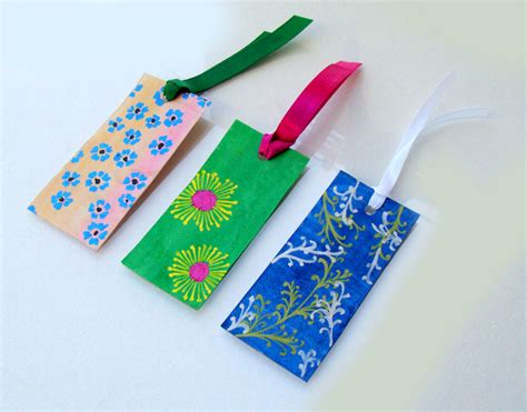 Handcrafted Bookmarks - handmade bookmarks for sale handmade gift items india