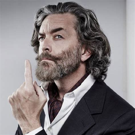 long grey hairstyles for over 50s men 25 best hairstyles for older men 2018