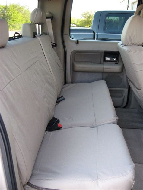 2008 ford f150 front seat covers 2004 2008 ford f150 xl cab front back custom fit