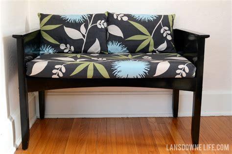 slipcovered bench slipcovered bench cushion lansdowne life