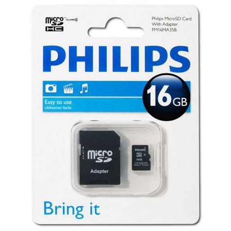 Micro Sd Vgen 16gb Adaptor buy from radioshack in philips fm16ma35b 97 micro sd with adapter 16gb for only 84