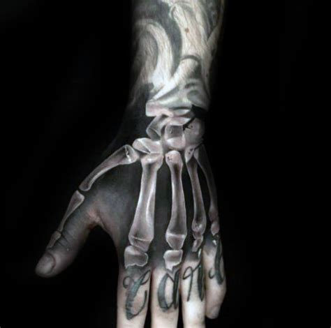 skeleton hand tattoo designs 75 skeleton designs for manly ink ideas