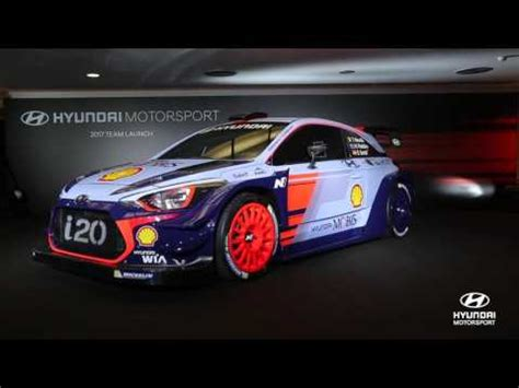 hyundai motor sports 2017 hyundai motorsport team launch