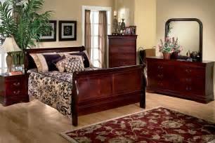 louis 5 bedroom set