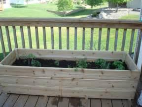 Deck Garden by Vegetable Garden On The Deck You Bet Northern Garden