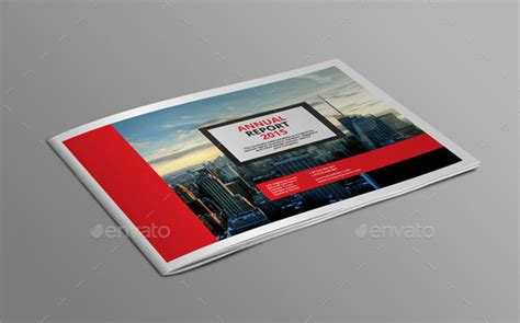 40 Best Corporate Indesign Annual Report Templates Bashooka Indesign Landscape Template