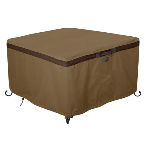 pit table cover accessories hickory 42 in square pit table