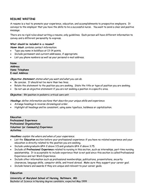 sale resume objective statement