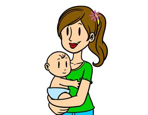 imagenes en ingles para una mama dibujo de en brazos de mam 225 pintado por genesis 23 en