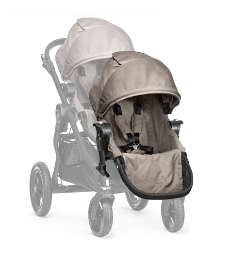 baby jogger city select second seat baby jogger 2014 city select second seat sand