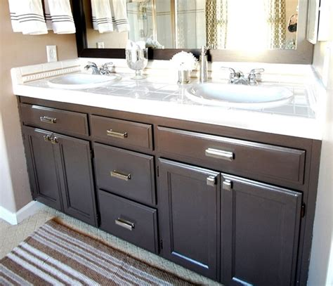 How To Paint Bathroom Vanity Cabinets Bathroom Q A Giveaway Centsational