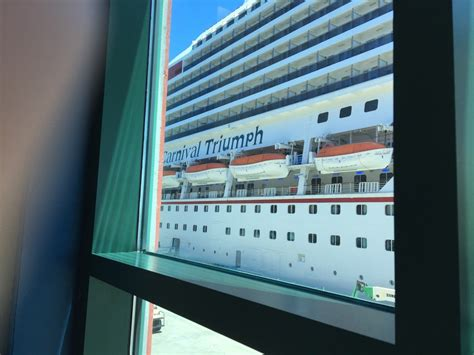boarding new orleans port on carnival triumph cruise ship cruise critic