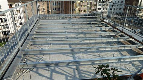 dachterrasse auf flachdach bauen roof deck terrassenbau in 3 tagen selbst de