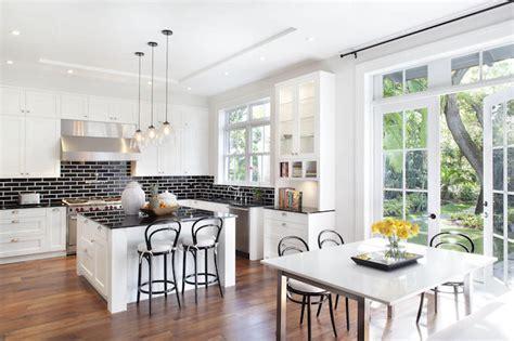 küche backsplash trends design offene wohnzimmer k 252 che