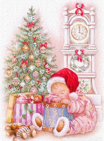 christmas children animated images gifs pictures animations