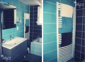 baignoire bleue design