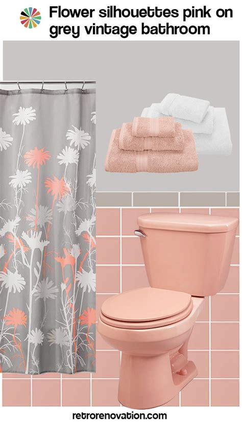grey and pink bathroom 12 ideas to decorate a pink and gray vintage bathroom