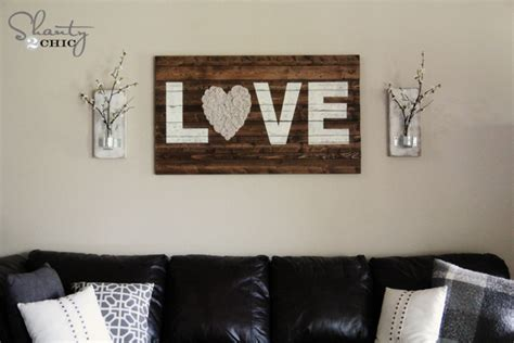 behind couch wall decor get crafty with wood pallets this spring cardella waste
