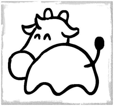 imagenes mas faciles para dibujar imprime el mejor dibujo facil de una vaca imagenes de vacas
